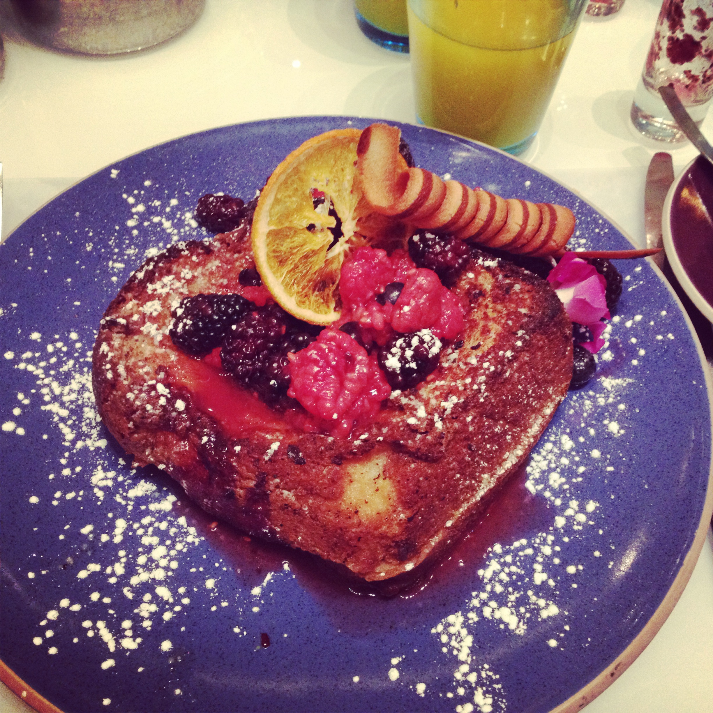 Very berry brioche french toast - Norma's at Le Parker Meridien, Midtown