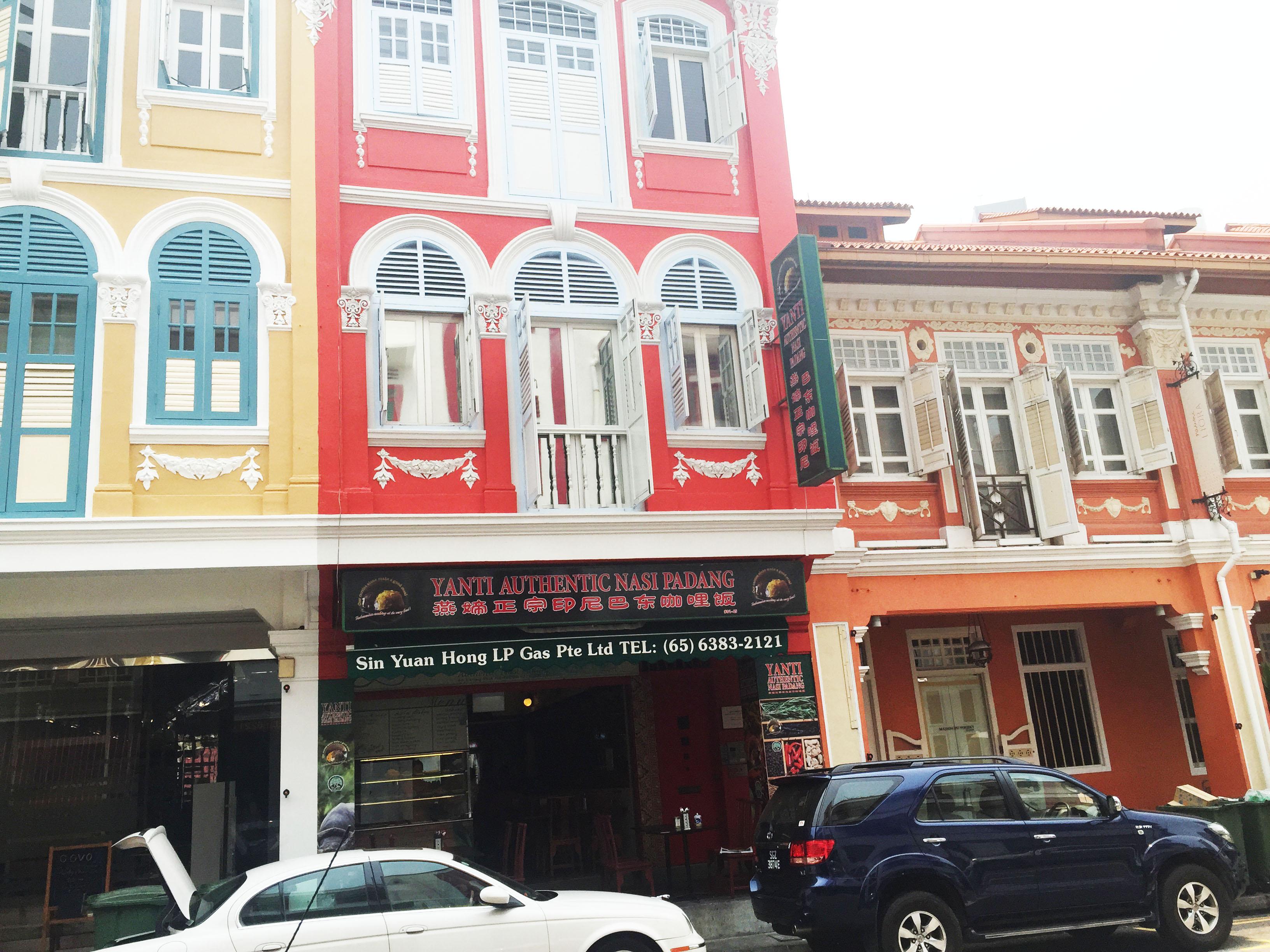 Champagne Twilight - Singapore Chinatown