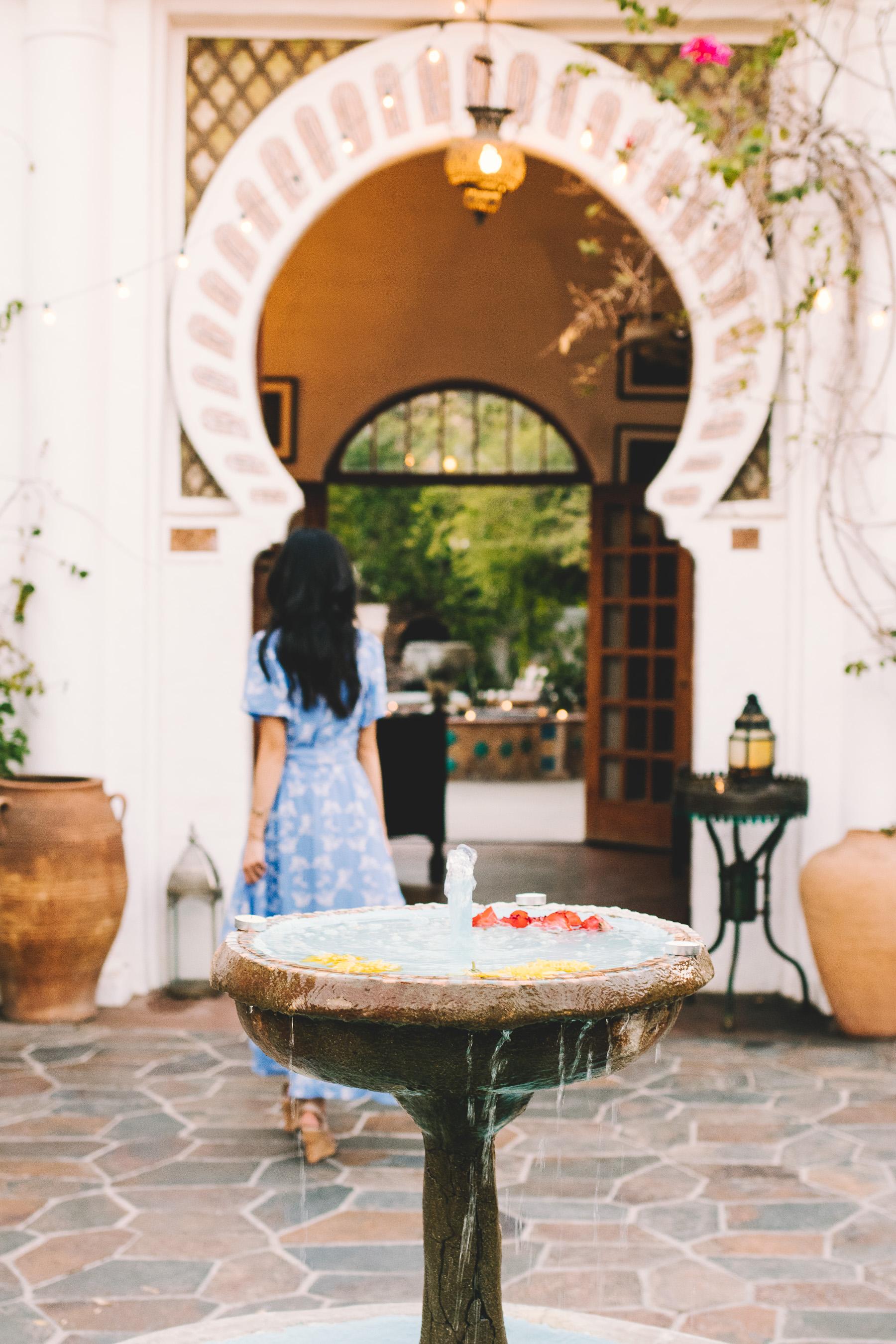 Champagne Twilight - Korakia Pensione - Parker Palm Springs