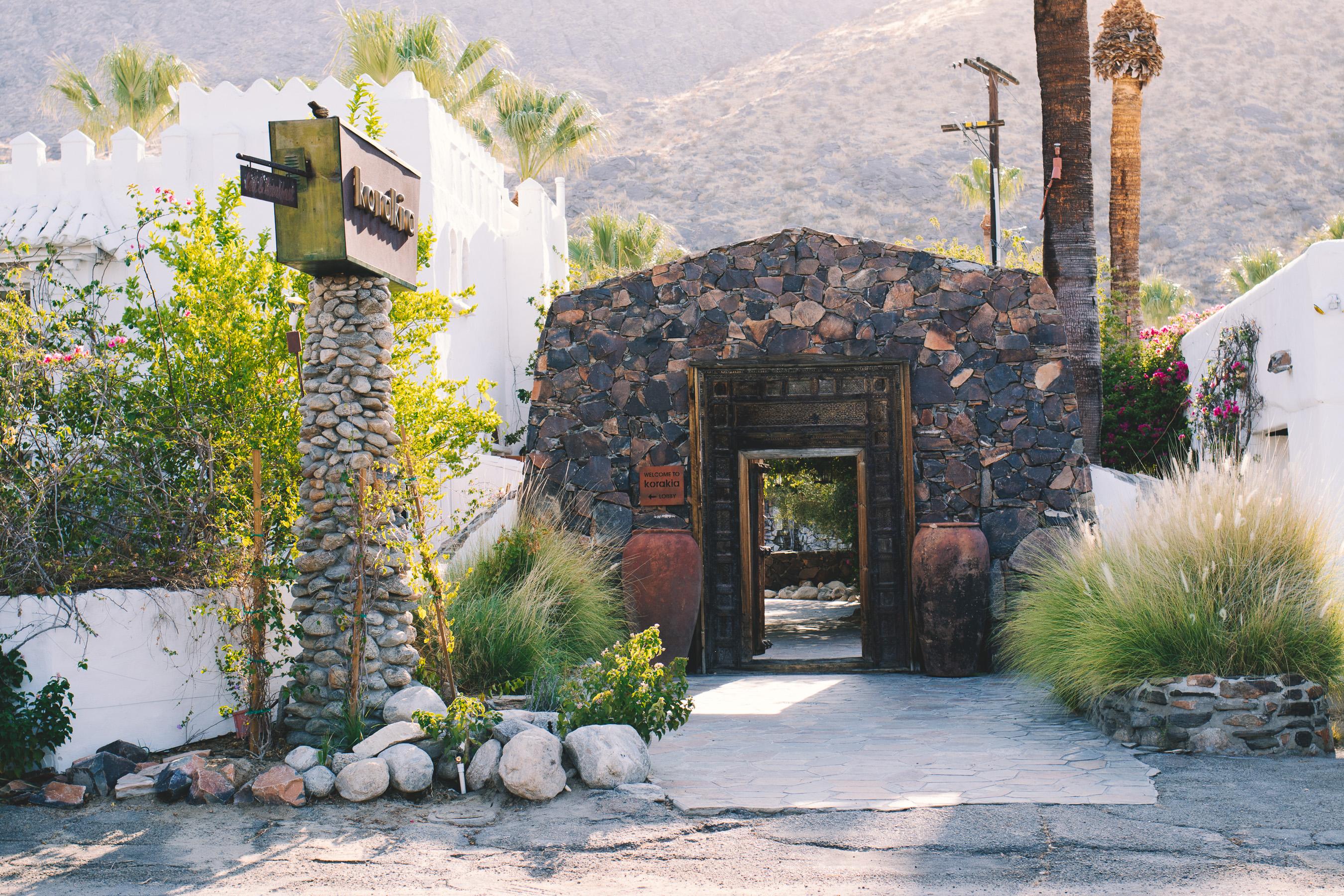 Champagne Twilight - Palm Springs - Korakia Pensione