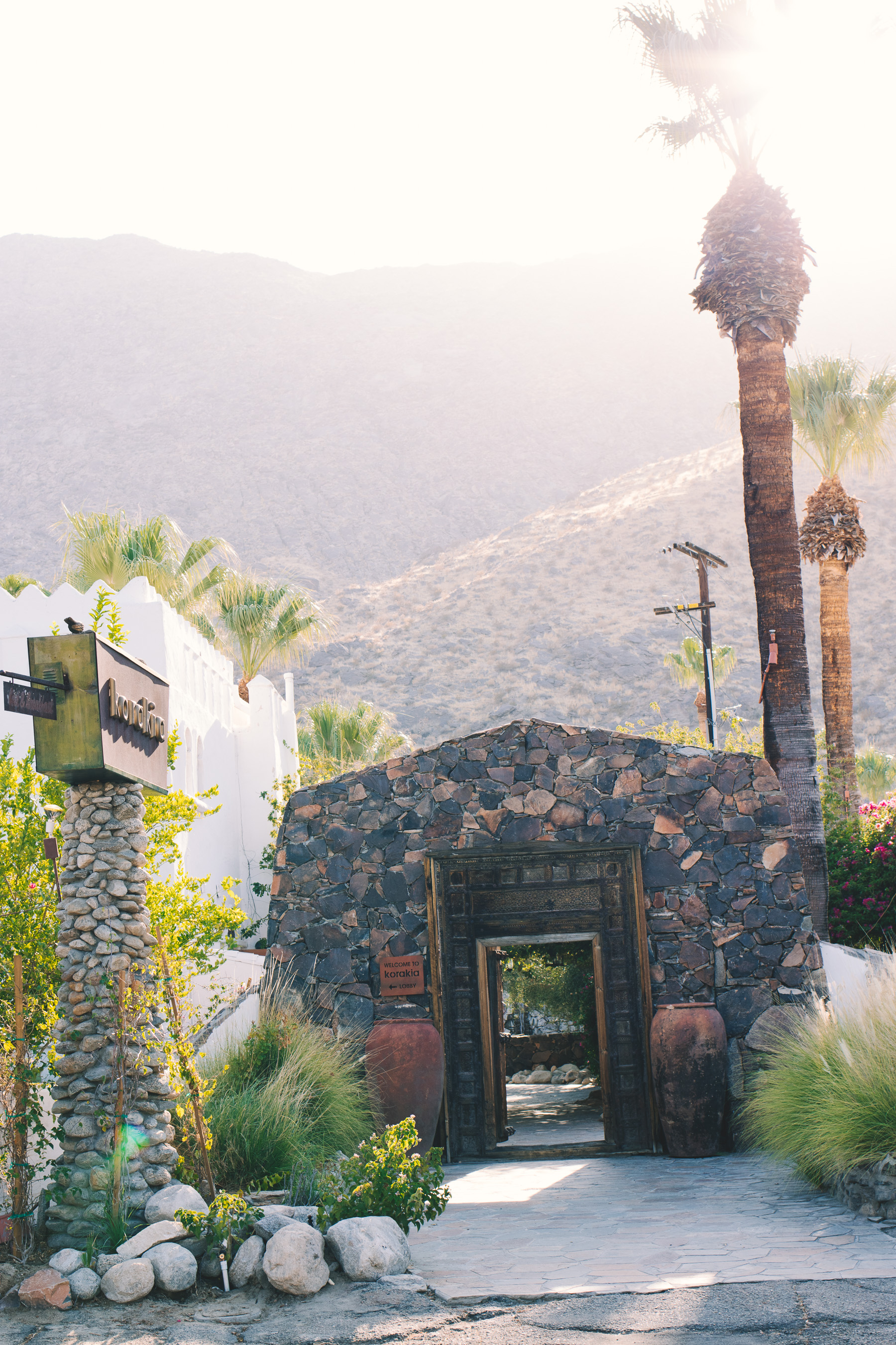 Champagne Twilight Korakia Pensione - Parker Palm Springs