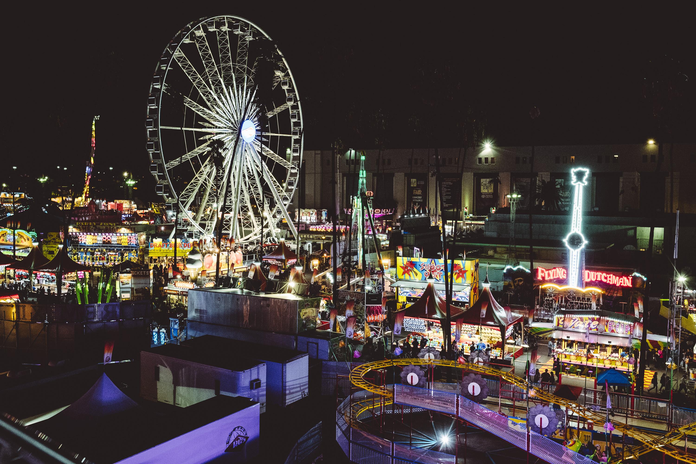 Champagne Twilight - LA County Fair