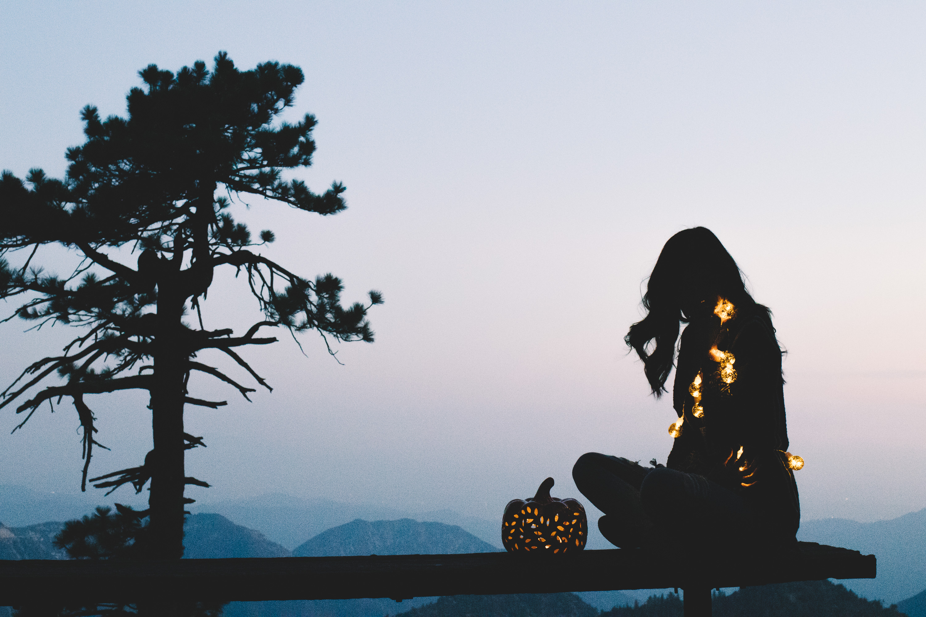 Champagne Twilight - JORD Wooden Watches - Angeles National Forest